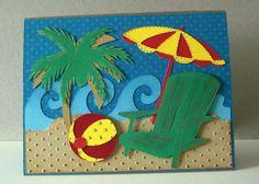 Beach - card by Marcie