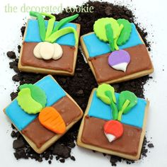 These are so beautiful that I might have trouble eating them.  Well, I'd find a way...