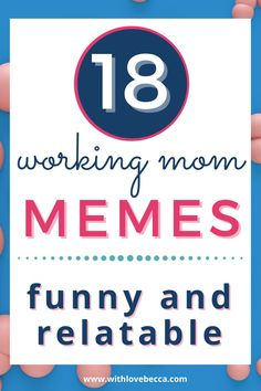 Hey there, working mom! Are you super busy managing family life and managing your career? Here's my secret for making it all work: Find a way to laugh through it all!These working mom memes will help you do just that! Funny Parenting Memes, Funny Mom Memes, Love Memes, Mom Humor, Funny Humor, Hilarious, Working Mom Meme, Working Mom Quotes, Working Mom Tips