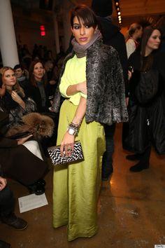Deena Abdulaziz, Saudi Princess & Boutique Owner, Hits Fashion Week (PHOTOS)