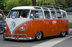 vintage VW van