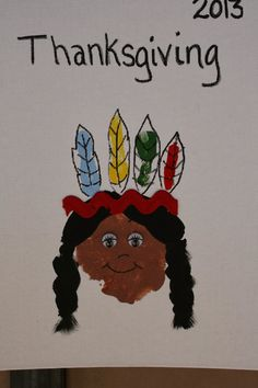 Will Work For Eskimo Kisses: Thanksgiving Handprint Craft