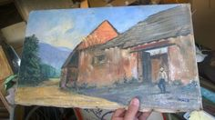 San Rafael California original signed old OIL painting ART . Mission?  #Impressionism