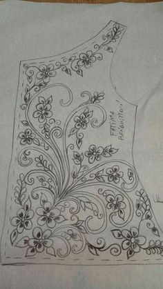This Pin was discovered by Nem Tambour Beading, Tambour Embroidery, Couture Embroidery, Embroidery Motifs, Ribbon Embroidery, Machine Embroidery, Irish Crochet Patterns, Hand Embroidery Design Patterns, Embroidery Flowers Pattern