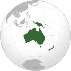 continent of australia/oceania Australia Continent, Australia Map, Visit Australia, Australia Country, West Papua, Location Map, Great Barrier Reef, Antarctica, Papua New Guinea