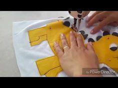 Como costurar calcinha higiênica para pet - YouTube