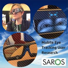 What happens if you take part in paid user experience research with Saros Research? You might get your eyes tracked!