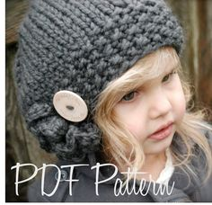 This is a listing for The PATTERN ONLY for The Bennett Beret    This hat is handcrafted and designed with comfort and warmth in mind... Perfect