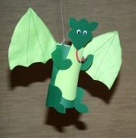 Craft Foam or Paper Dragon
