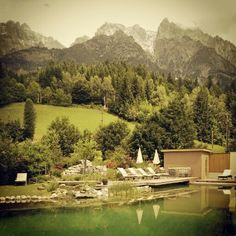 Leogang in summer- Salzburg countryside- Austria