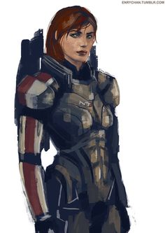 Jane Shepard by Jael-Kolken