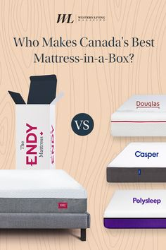 Who Makes Canada's Best Mattress-in-a-Box? Extra Firm Mattress, Mattress In A Box, Best Mattress, Mattress Covers, Foam Mattress, Casper Mattress, Memory Foam, Canada, How To Make
