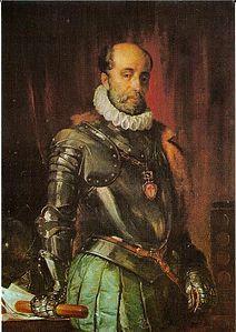 Luis de Requesens y Zúñiga (Barcellona, 25 agosto 1528 – Bruxelles, 5 marzo 1576) è stato un militare, diplomatico e politico spagnolo, Governatore del Ducato di Milano (1572–1573) e governatore dei Paesi Bassi meridionali (1573–1576).   Luis de Zúñiga y Requesens Precettore di Don Giovanni d'Austria, ebbe una parte importante nella grande vittoria della Lega Santa nella Battaglia di Lepanto.