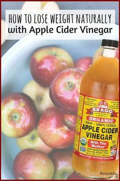 How to Lose Weight Naturally with Apple Cider Vinegar   Avocadu.com