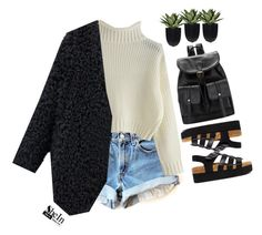 """""""#SheIn"""" by credentovideos ❤ liked on Polyvore featuring Truffle, women's clothing, women's fashion, women, female, woman, misses and juniors"""