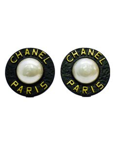 Iconic Chanel clip on earrings from the Spring 1993 collection