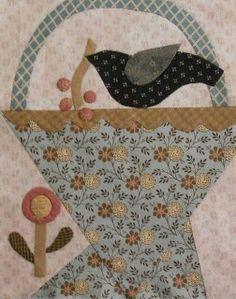 Cheri Payne design from Log Cabin Quilter blog
