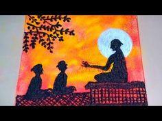 Super Easy Rangoli Designs (Guru Purnima Rangoli / festival kolam /rangoli for competition/ beautiful rangoli designs with colours/easy and beautiful rangoli. Rangoli Ideas, Kolam Rangoli, Flower Rangoli, Colorful Rangoli Designs, Beautiful Rangoli Designs, Easy Poster, Poster Rangoli, Color Pencil Sketch, Guru Purnima