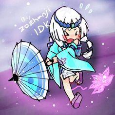 Kagura Panics [Mobile Legends] by kuromikku Alucard Mobile Legends, Moba Legends, Mobile Legend Wallpaper, Animes Wallpapers, Japanese Girl, True Colors, Hero, Fan Art, Drawings