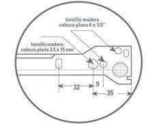Tutorial melamina y mueble correderas metalicas simples para muebles de melamina y madera | Web del Bricolaje Diseño Diy