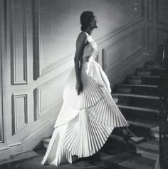 Christian Dior, 1950 by Willy Maywald