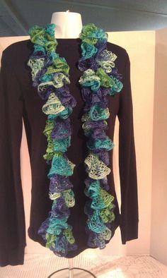Sashay scarf Womens scarf Multicolor scarf by JANSONESTOPSHOP, $23.00