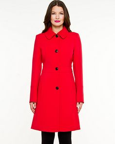 Le Chateau: Double Weave Lightweight Coat. Made in Canada.