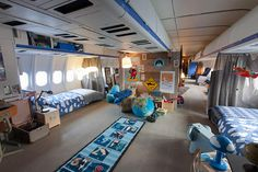 KLM and Airbnb Collaborate to Create the Airplane Apartment - The Chromologist