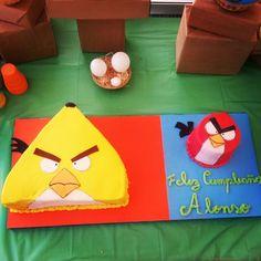 Cake angry birds