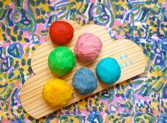 DIY: masa de colores!