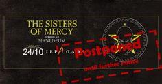 SISTERS OF MERCY: Αναβάλλεται το live της Αθήνας!