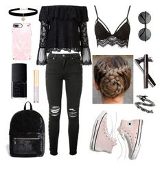 """""""outfit"""" by kwharmony on Polyvore featuring AMIRI, Witchery, Charlotte Russe, Madewell, Forever 21, NARS Cosmetics, Betsey Johnson, Dolce&Gabbana and Speck"""