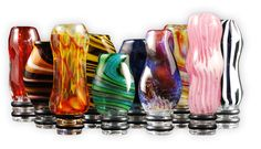 The most awesome, fabulous, artistic, perfect drip tips in all of ecig history! I love these!