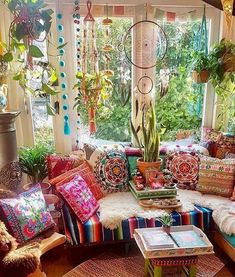 "A collection of Bohemian ""Everything"" to create a beautiful oasis of tranquility and peace in your home, either inside or outside. Check it out if you have a bohemian soul like I do. Find it all in the same place at the best prices. #bohodecor #bohemian #bohemiandecor #boho #gyspydecor #bohostyle #hippiestyledecor *aff*"