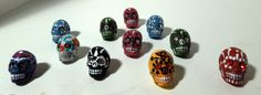 Hey, I found this really awesome Etsy listing at http://www.etsy.com/listing/151742263/tiny-dia-de-los-muertos-sugar-skull
