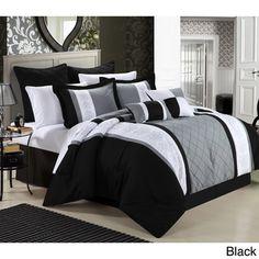 Livingston 8-piece Comforter Set | Overstock.com Shopping - Great Deals on Comforter Sets