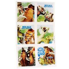 Ice Age Stickers 4 Sheets by HALLMARK MARKETING CORPORATION, http://www.amazon.com/dp/B0021YYSX8/ref=cm_sw_r_pi_dp_ePuIrb1QSP9BR