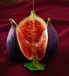 Vijgen: sexy fruit met Grieks yoghurtijs