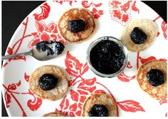 caviar and buckwheat blinis
