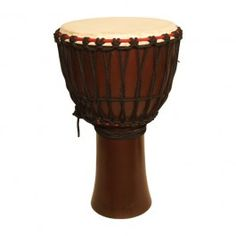 "Djembe, 13"" x 24"", Mango Wood, Dark $148.90"