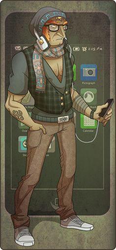 Legend of Zelda Hipster