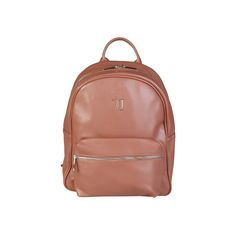 Spring / Summer Collection - Large backpack with Saffiano eco leather with adjustable shoulder straps in fabric - Zip fastening - Logo enameled metal in tone wi Notebook Sleeve, Summer Collection, Leather Backpack, Fashion Backpack, Backpacks, Zip, Shoulder Straps, Metal, Fabric