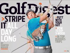 Action Sequence Photograph for the Golf Digest Cover: Behind the Scenes (Video) | Picture Correct