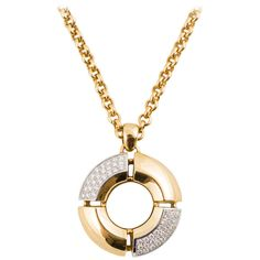 """Antonini """"St. Tropez"""" Gold Necklace 
