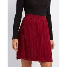 Charlotte Russe Pleated Midi Skirt ($27) ❤ liked on Polyvore featuring skirts, wine, knee length pleated skirt, mini skirt, chiffon midi skirt, sheer midi skirt and sheer mini skirt