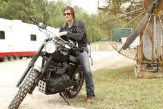 Actor Norman Reedus is photographed for Lifestyle Mirror on September 13 in Georgia