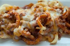Chili Cheese Curly Fries. i just died. went to heaven. god gave me these.