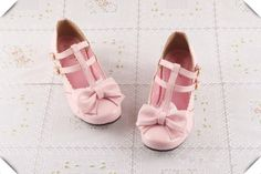 Sweet Pink Bow PU 3cm Low Chunky Heel Buckles Lolita Shoes | Know more >> http://www.wholesalelolita.com/sweet-pink-bow-pu-3cm-low-chunky-heel-buckles-lolita-shoes-p-13688.html
