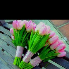 Spring wedding flowers (:
