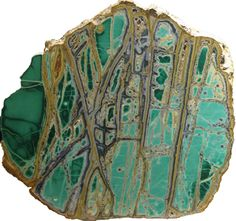 Variscite is named for the Latin word for Vogtland in Saxony, where its color matched the costumes of the traditional spring festivals, which can still be seen today.